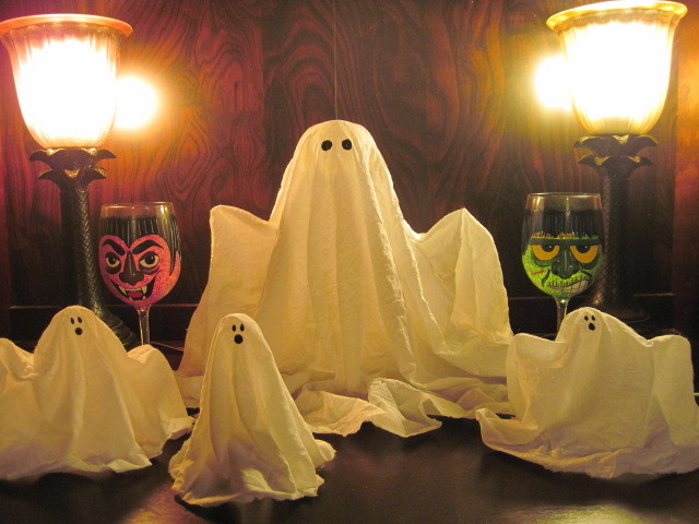 Spiffy Stiffy Fabric Ghosts