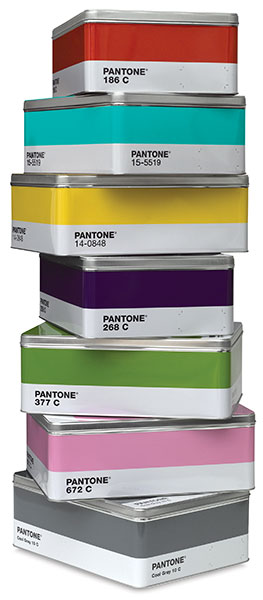 Pantone Boxes - FINDS CREATIVE GIFT GUIDE 2014