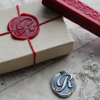 Wax Seal Wrapping  - FINDS Holiday Wrapping Roundup