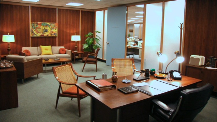 Mad Men - Don Drapers Office - FINDS Blog - March Chair of the Month