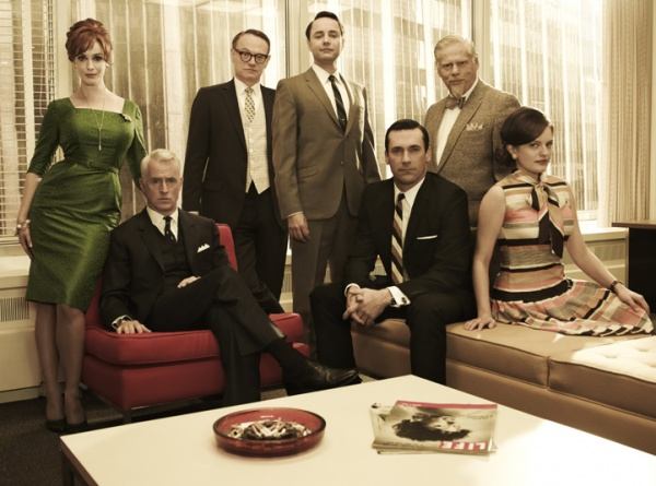 Mad Men Style Group Pictures