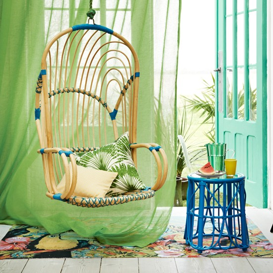 Hanging Bamboo Chair - FINDS - Chair of the Month