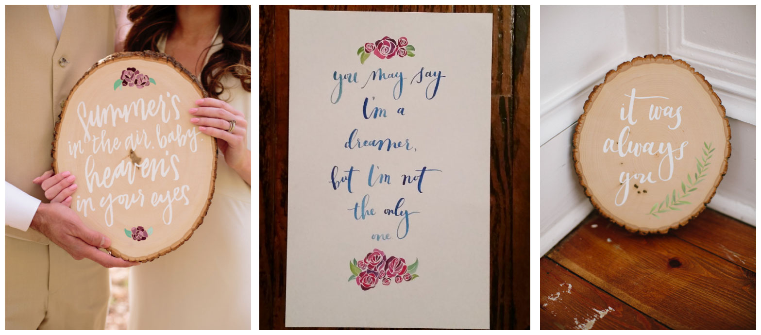 Ashley Bush Hand Lettered Prints and Custom Design