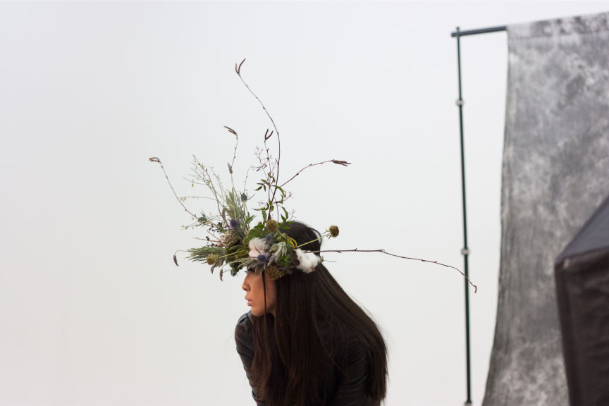 Floral Crown by Hoot & Holler