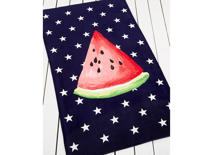 Martha Stewart Summer Collection Picnic Watermelon Beach Towel - 10 Summer Beach Towels - FINDS Blog