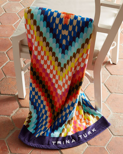 Trina Turk Sunset Beach Towel - 10 Summer Beach Towels - FINDS Blog