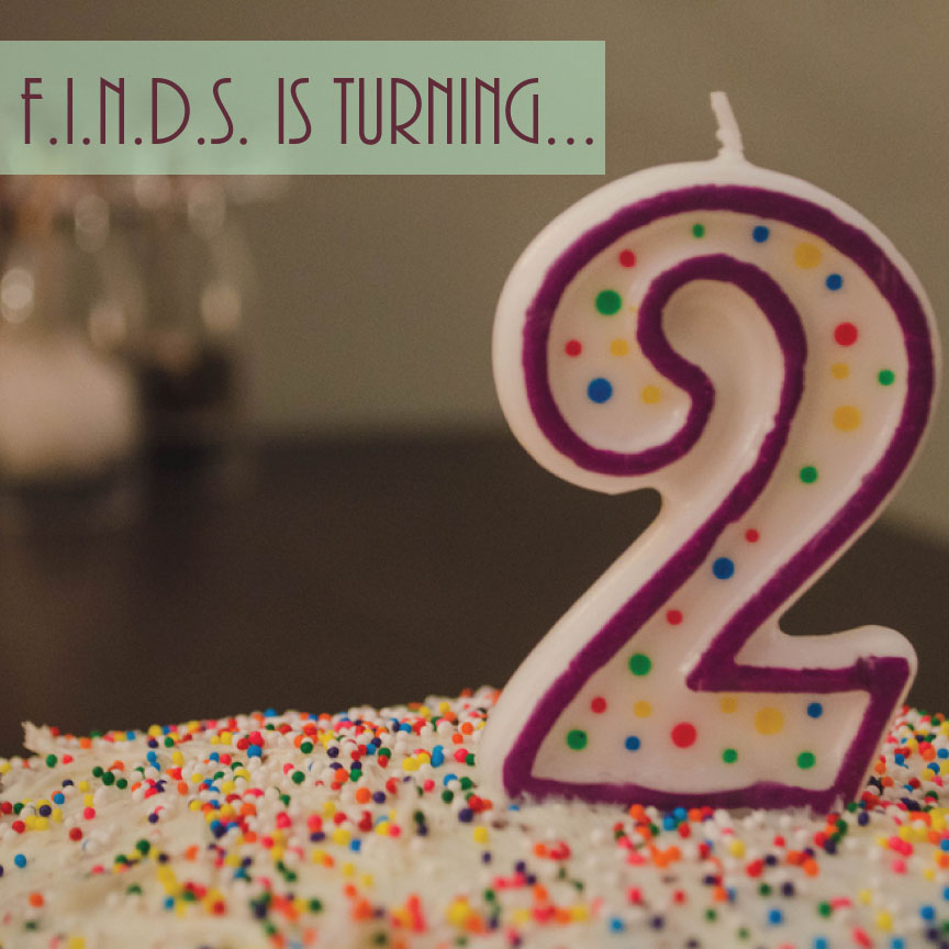 F.I.N.D.S. is Turning 2