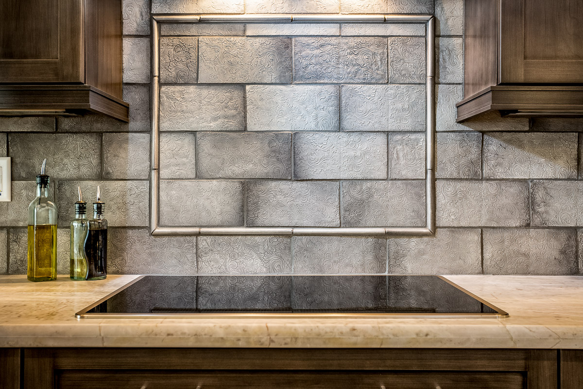 Lakeside Rebuild - Backsplash Tile Detail