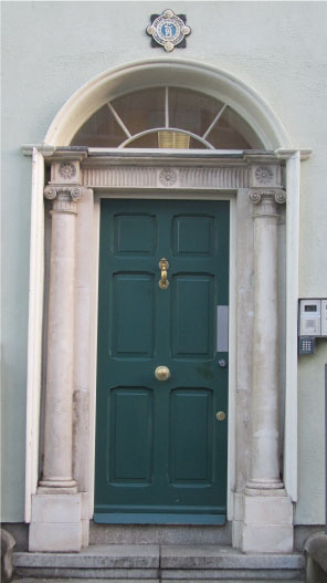 Teal-Dublin-Door---FINDS-Blog