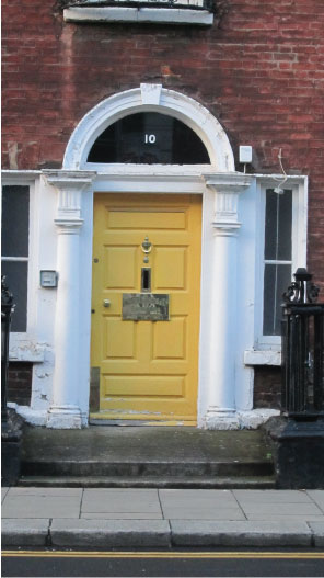 Yellow-Dublin-Door---FINDS-Blogs